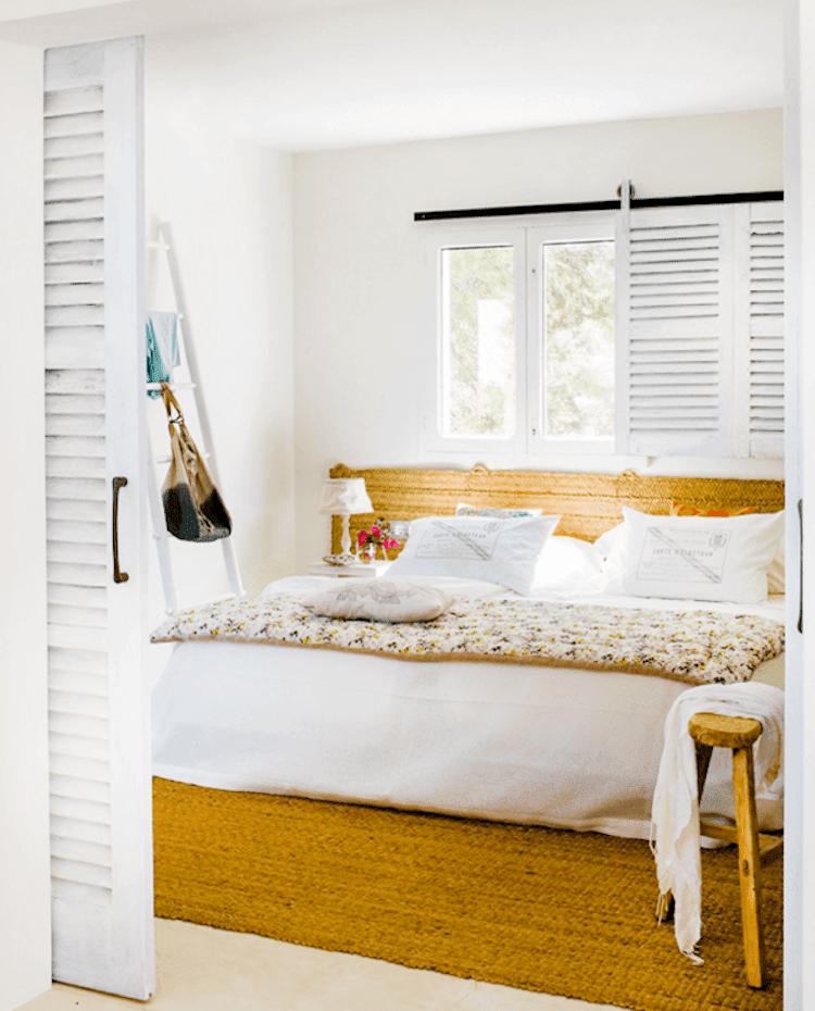 Ideas para decorar y refrescar tu casa, dormitorio con fibras