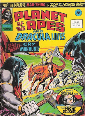Marvel UK, Planet of the Apes #92