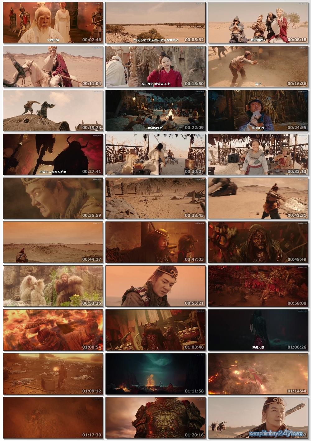 http://xemphimhay247.com - Xem phim hay 247 - Tề Thiên Đại Thánh 2: Hỏa Diệm Sơn (2019) - Monkey King: The Volcano (2019)