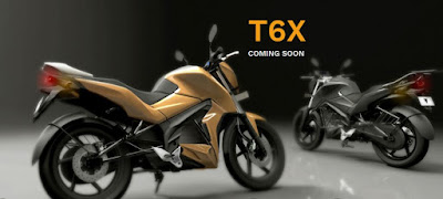 TORK T6X electric bike right side rear image