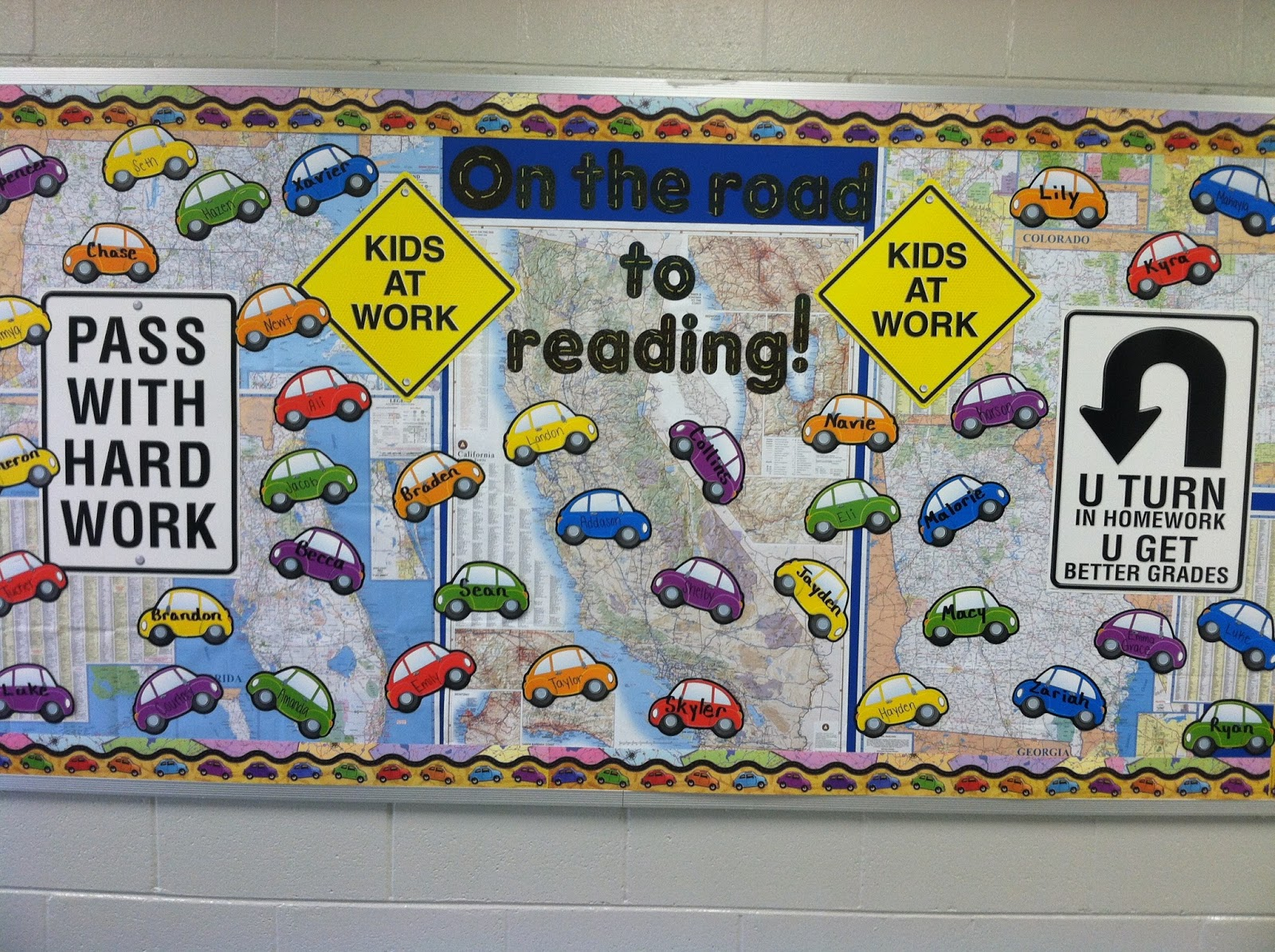Mrs Mcdonald S 4th Grade Bulletin Board Ideas