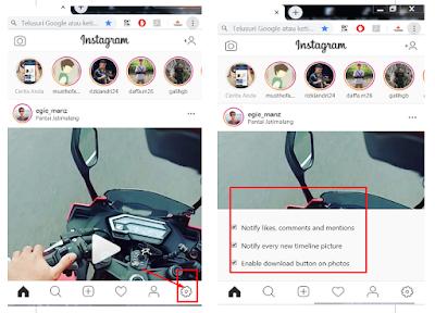 Cara Memunculkan Notifikasi Instagram di PC Dengan Browser Chrome