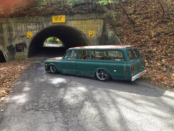 1969 Chevy Suburban 3 Door Shop Truck Patina Hot Rod ...