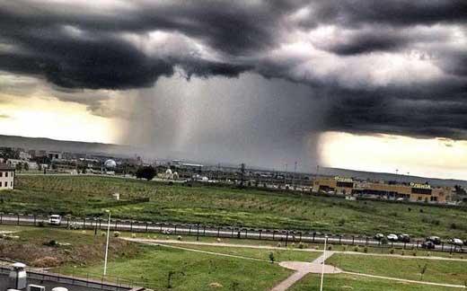 hujan lokal di rusia