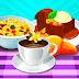 العاب طبخ حبوب الحليب والحلوى