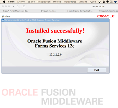 Disponible Oracle Forms 12c