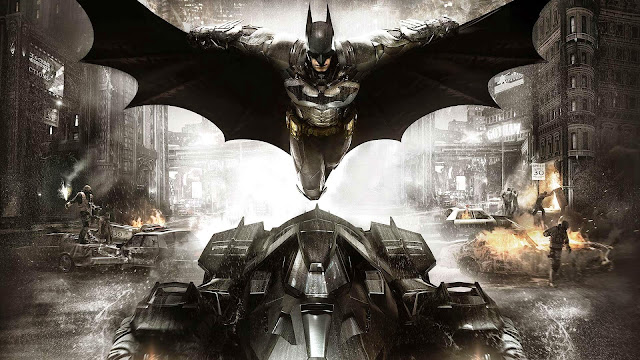 Papel de Parede Jogo Ação Batman Arkham Knight