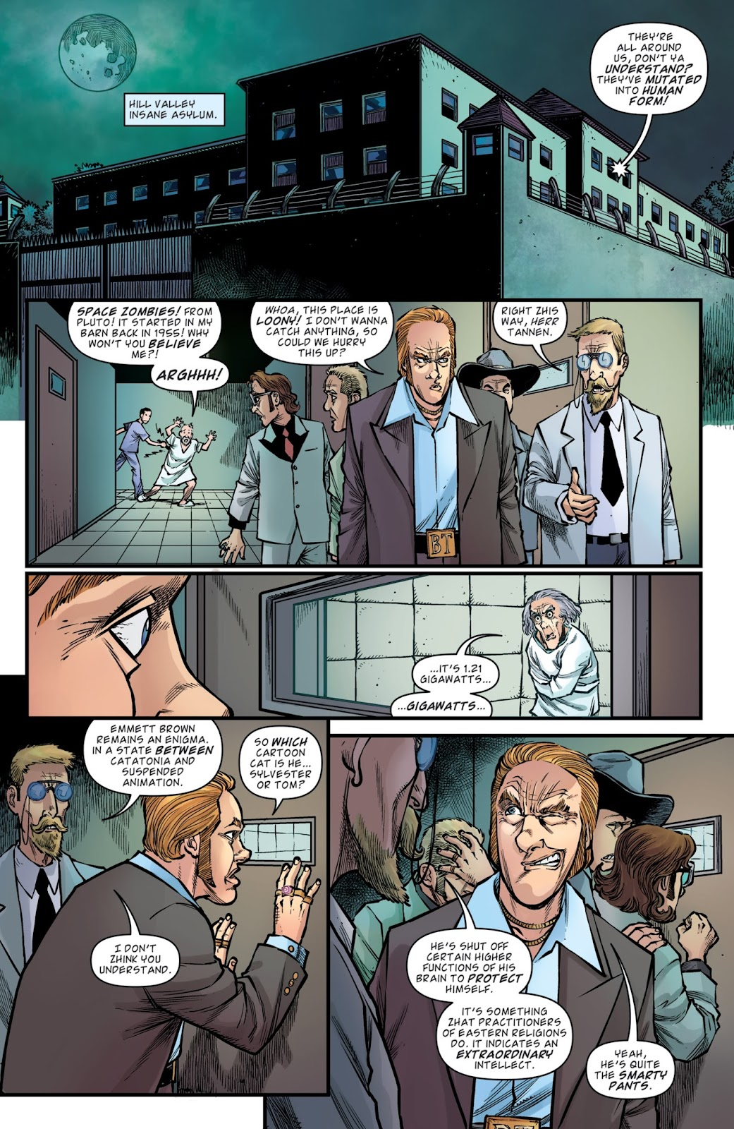Read online Back to the Future: Biff to the Future comic -  Issue #6 - 6