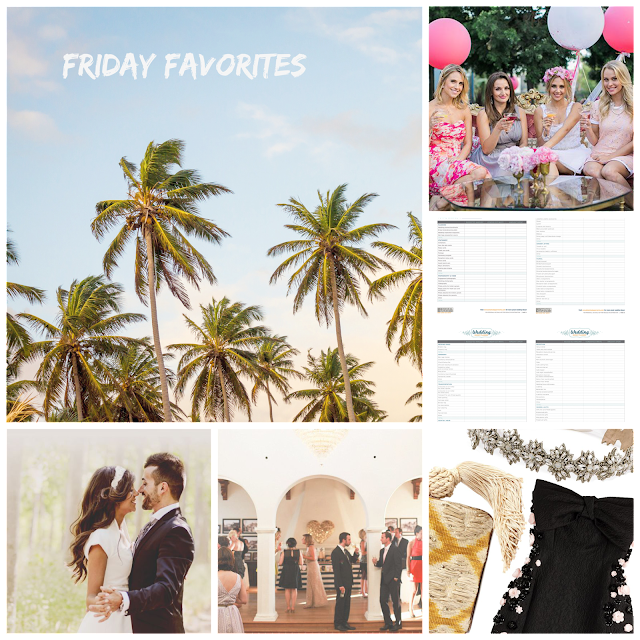 Friday Favorites #14 - Wedding bells - Bachelorette party planning - wedding bugdet free printables - Wedding planning - Wedding guest etiquette - Wedding attire etiquette