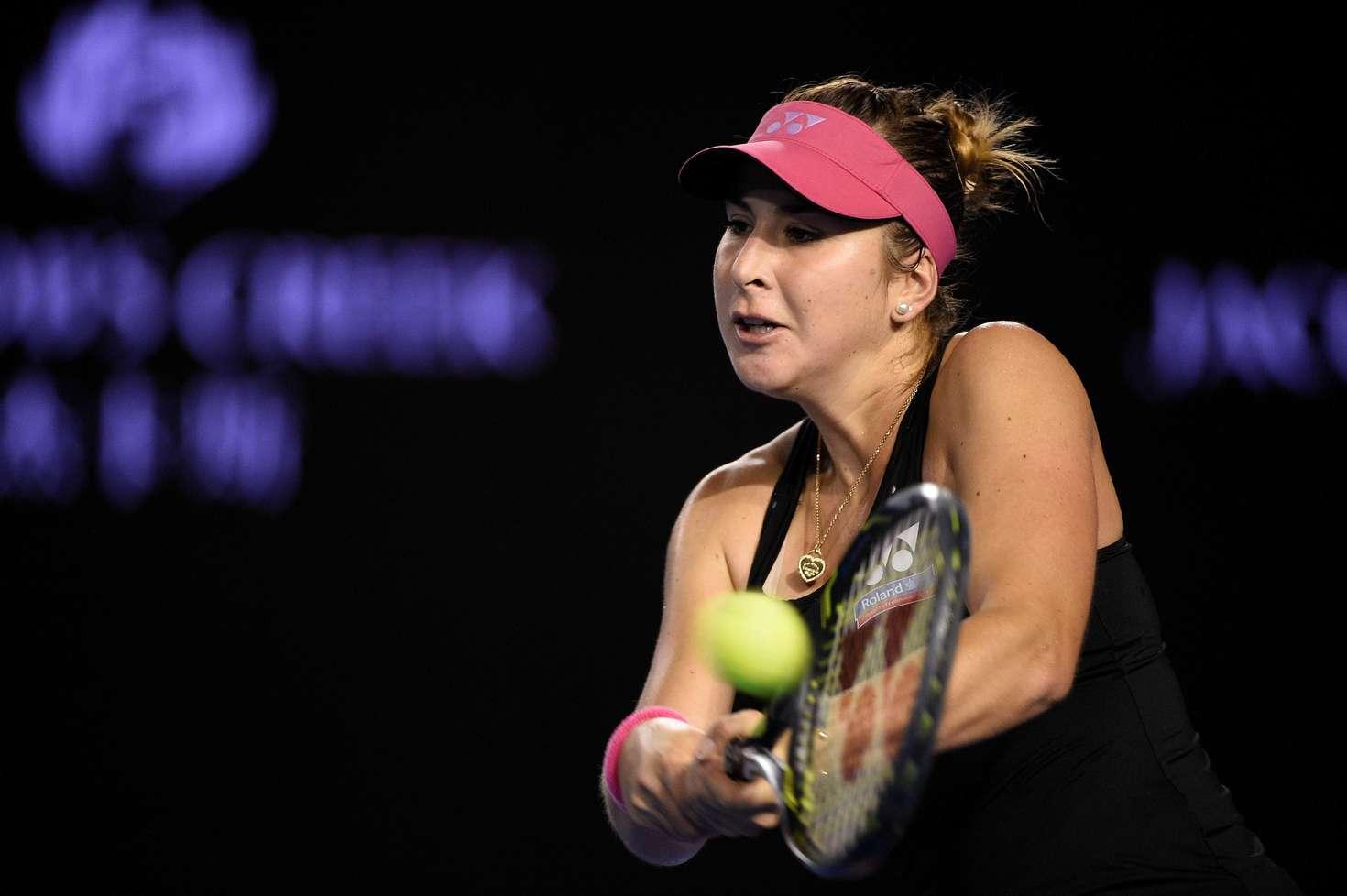 swiss tennis player belinda bencic hot images in black