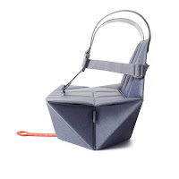Bombol Booster Seat Ergonomic Design