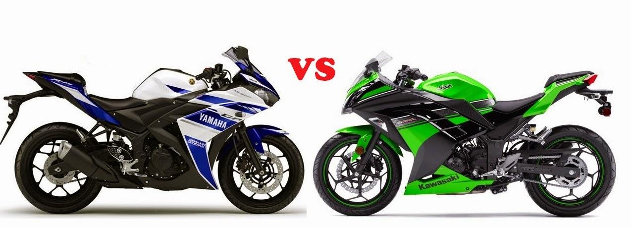 Kawasaki Ninja 250 FI VS New Yamaha YZF-R25