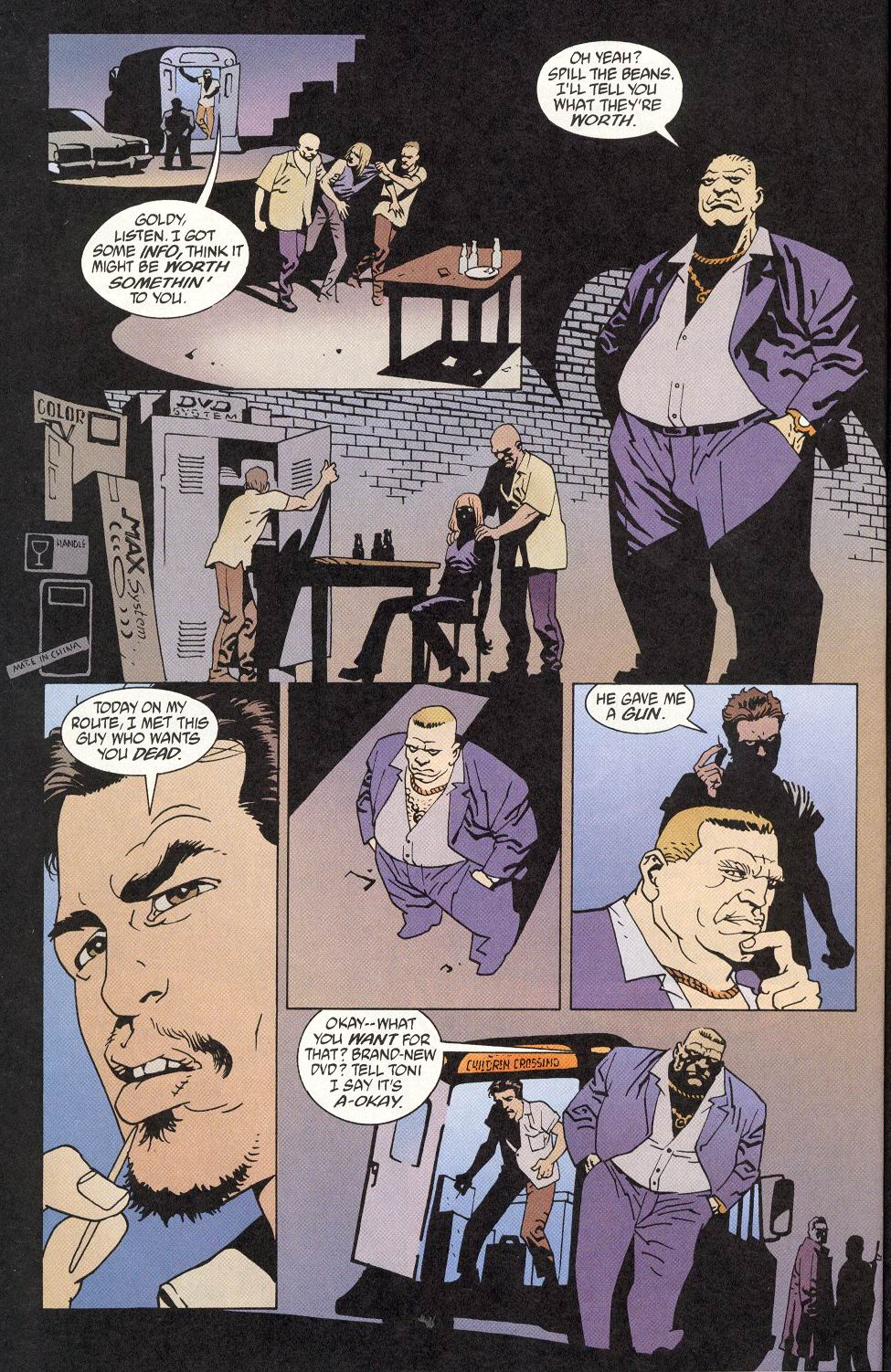 Read online 100 Bullets comic -  Issue #9 - 18
