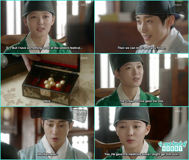 yoon sung ask ra hon to meet him at the lantern festival  - Love in The Moonlight - Episode 5 Review