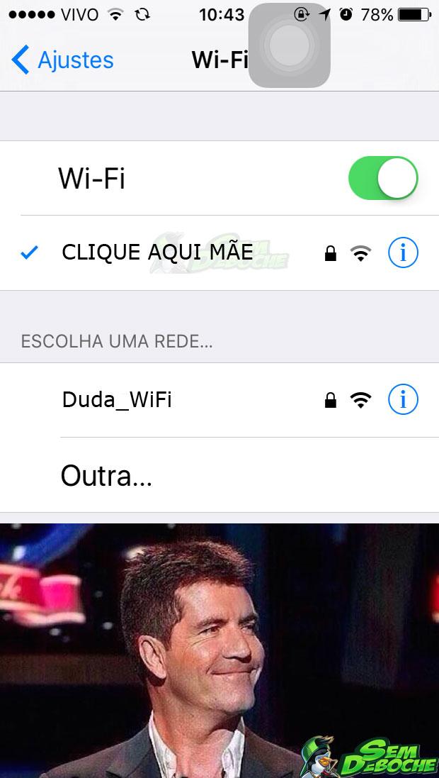 CONFIGURANDO O WIFI DA MÃE