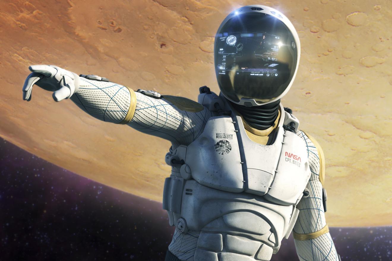 """Nick Kaloterakis: """"Mission to Mars"""", """"Deep Space Suit ..."""