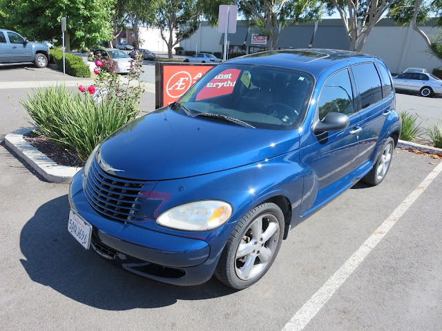 Chrysler PT Cruiser with complete car Single Stage Enamel Paint from Almost Everything Auto Body