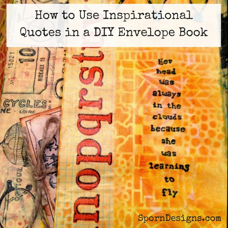 Slam Book Cover Page Quotes: Jessica Sporn Designs: How To Use Inspirational Quotes In