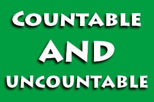 Bedanya Countable dan Uncountable nouns