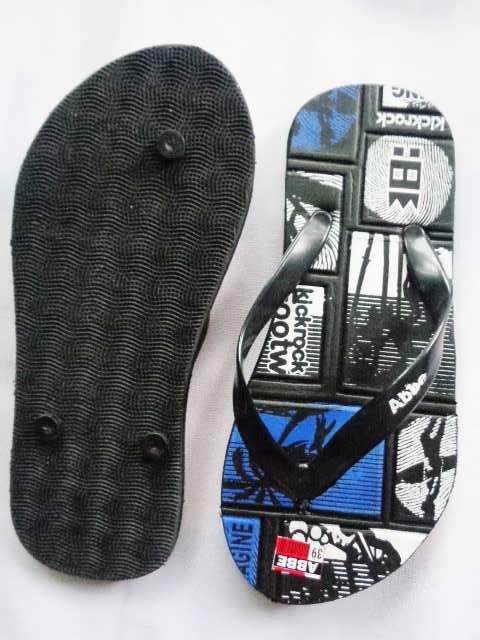 Sandal Murah Online SPon Simplek biru atas