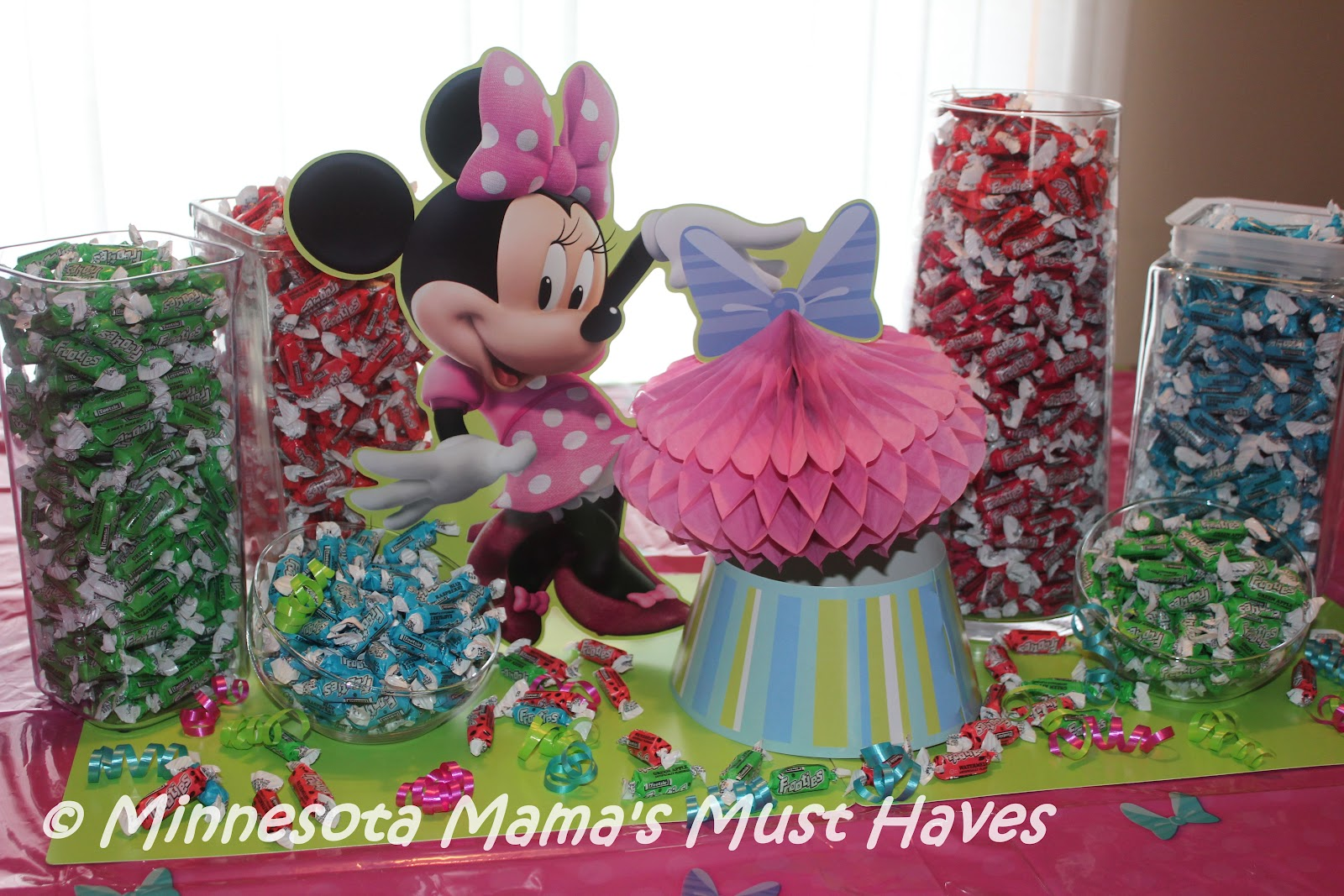 Minnie Mouse Birthday Party Danika Is Now A Whopping 4 Years Old