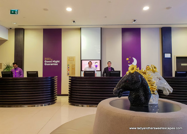 Premier Inn Ibn Battuta hotel reception