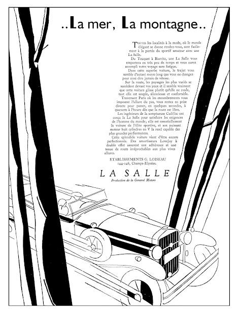 Sketchbook historic cars : Vecchie pubblicità Cadillac