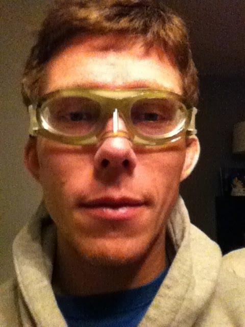 grappling goggles day one by josh vogel josh vogel art
