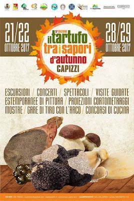 Il tartufo tra i sapori d'autunno - 21/22 e 27/28 ottobre 2017 a Capizzi