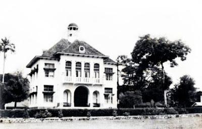 Gedung Balai Kota Pematangsiantar Tempoe Doeloe