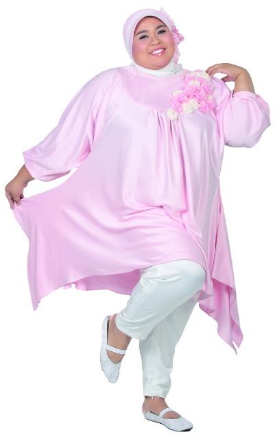 Kumpulan Foto Baju Muslim Untuk Orang Gemuk Dan Pendek