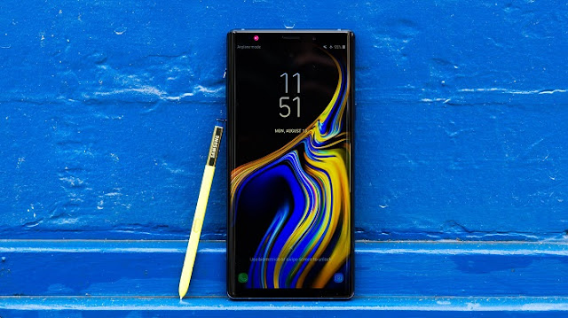 Smartphone Gaming Terbaik - Samsung Galaxy Note 9