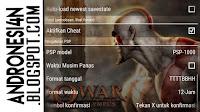 Settingan GOD OF WAR : Chain of Olympus PPSSPP