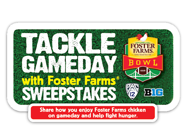 Foster Farms Orange Chicken, Foster Farms GameDay Sweepstakes, How to enter the Foster Farms Gameday Sweepstakes, Foster Farms Dinner Solutions Recipes