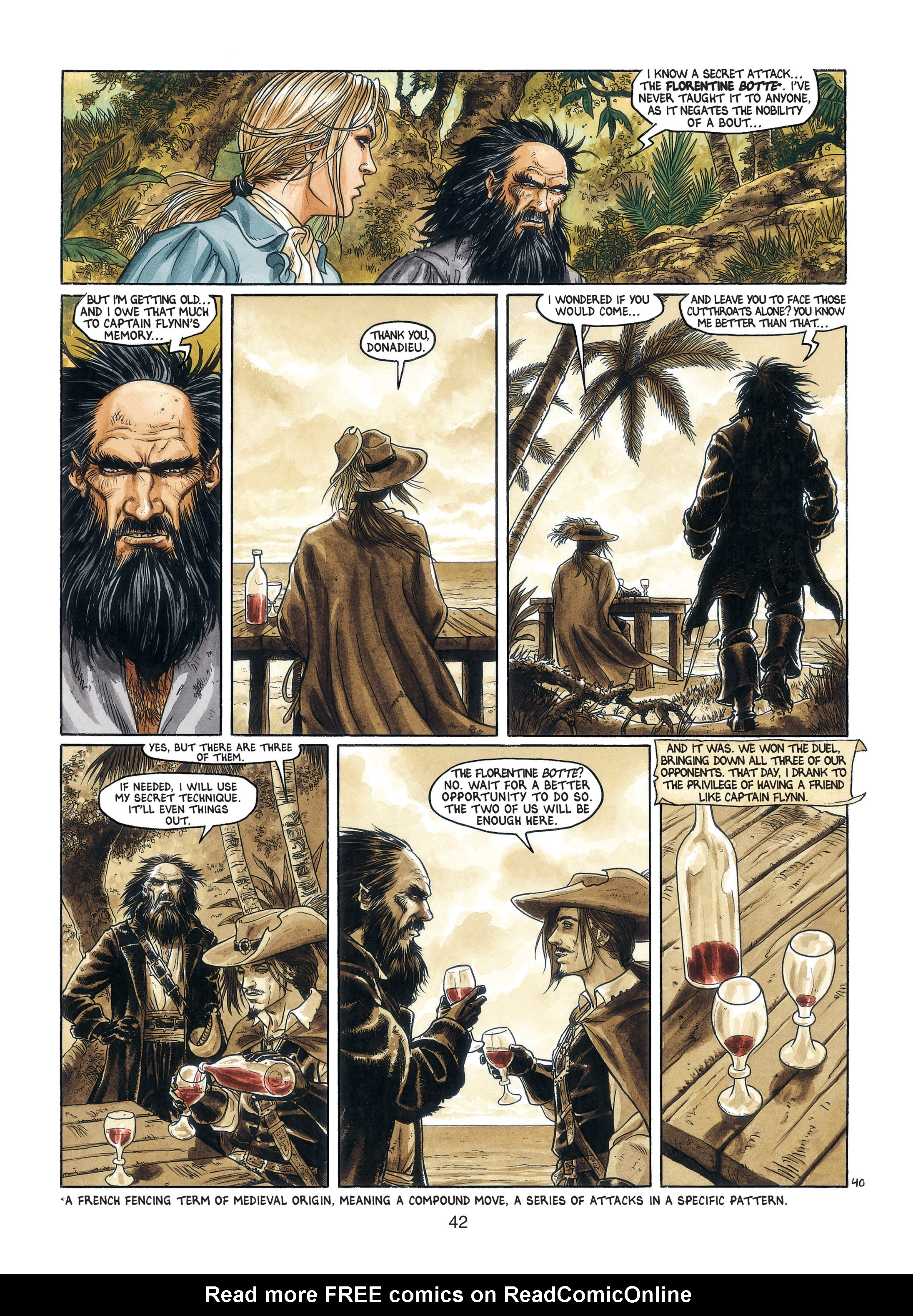 Read online Barracuda comic -  Issue #3 - 43