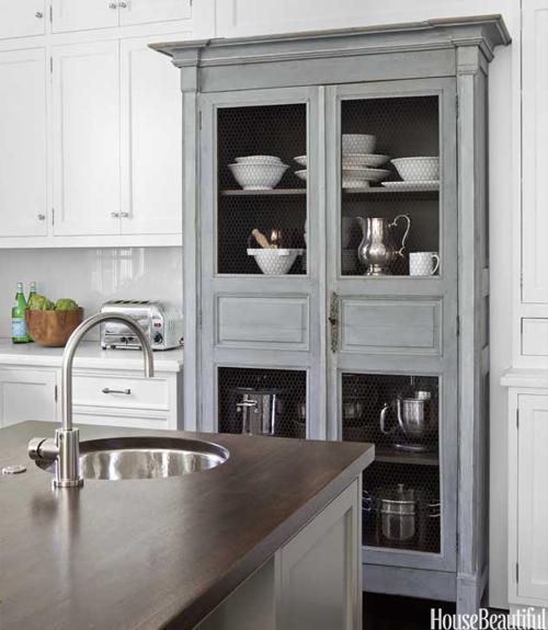 Vintage Kitchen Hutch: ARATORP: Köksinspiration