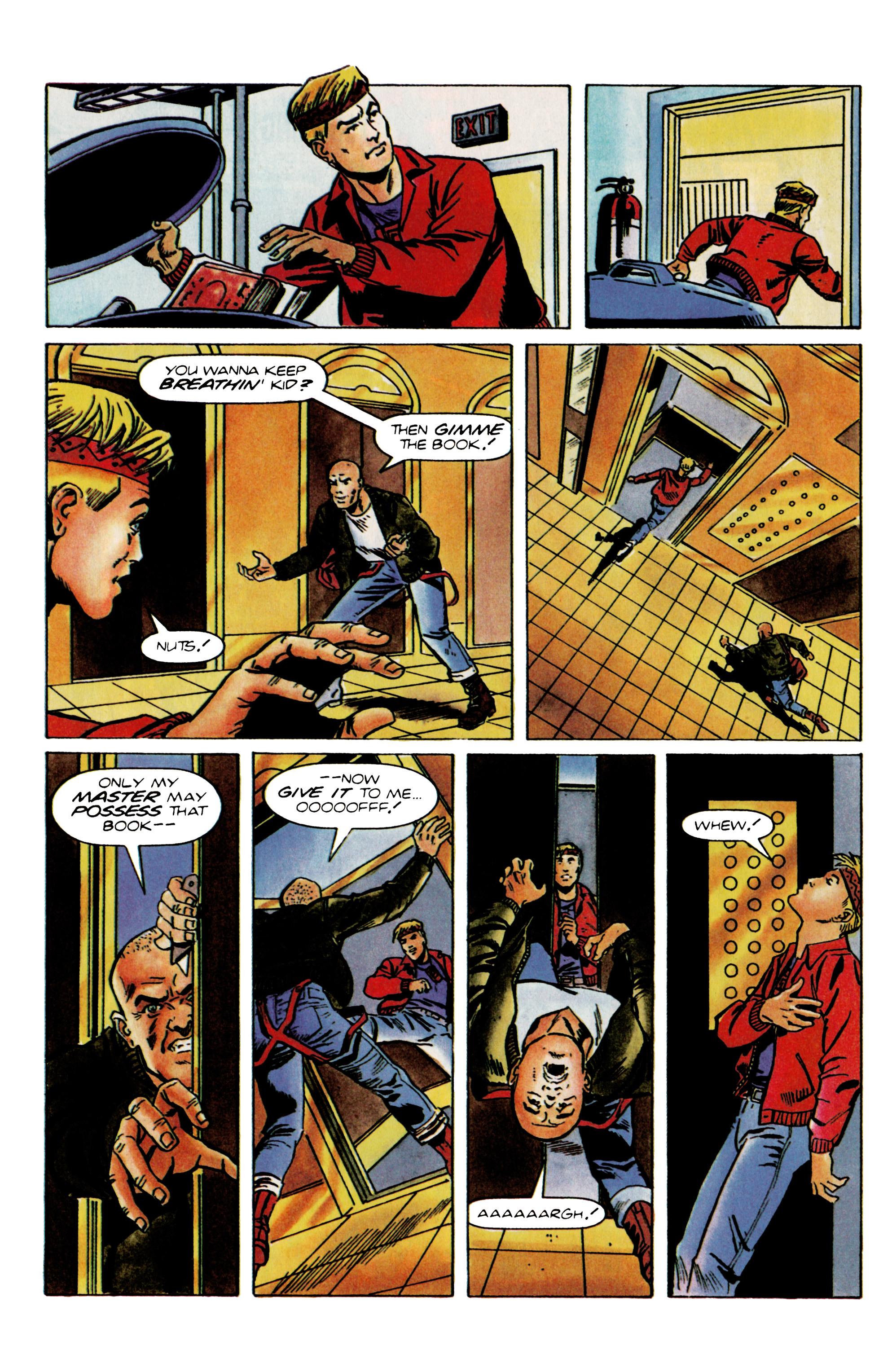 Read online Eternal Warrior (1992) comic -  Issue #22 - 17