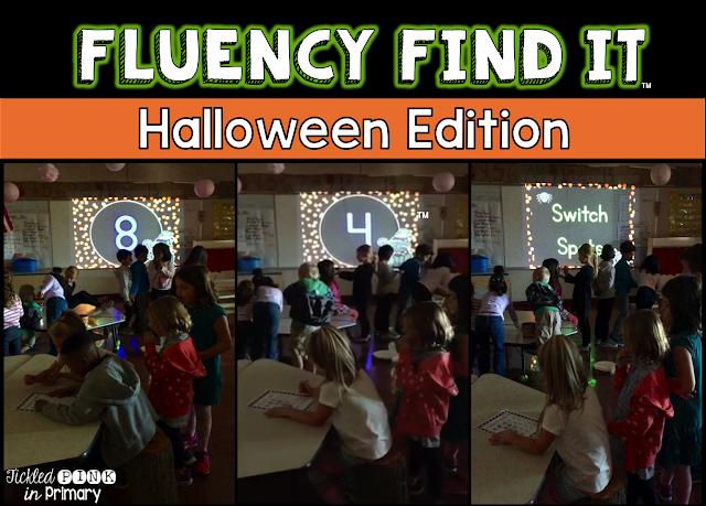 Halloween Fluency Find It - Halloween Edition