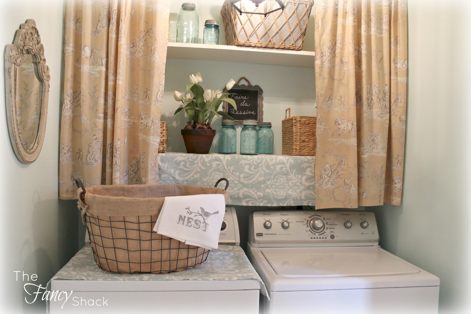 The Fancy Shack The Laundry Room Makeover