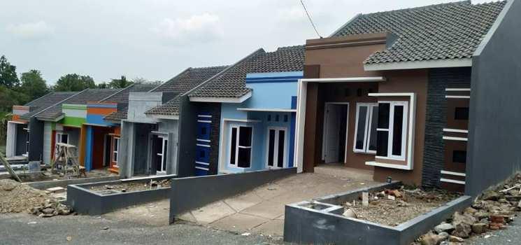Gambar model rumah minimalis tampak depan dengan hiasan batu alam