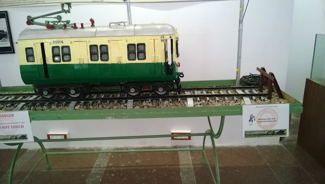 Pictures of the Rail Museum at Kacheguda