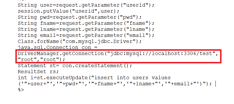 how to create a website using jsp