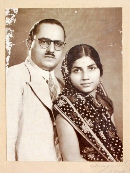 Vintage Photograph of an Indian Couple