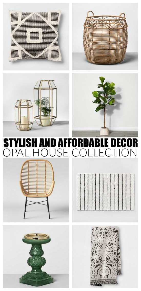 Neutral decor from Target's Opal House