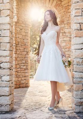 alternativas de Vestidos de Novia Cortos
