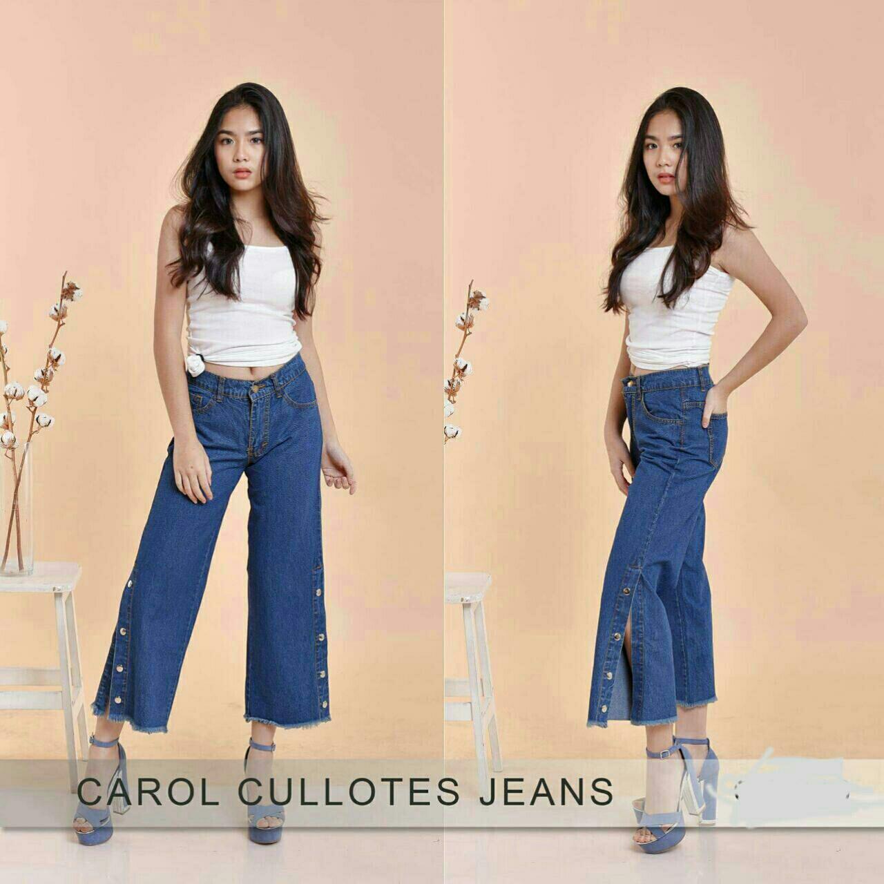 CaroL cullotes jeans