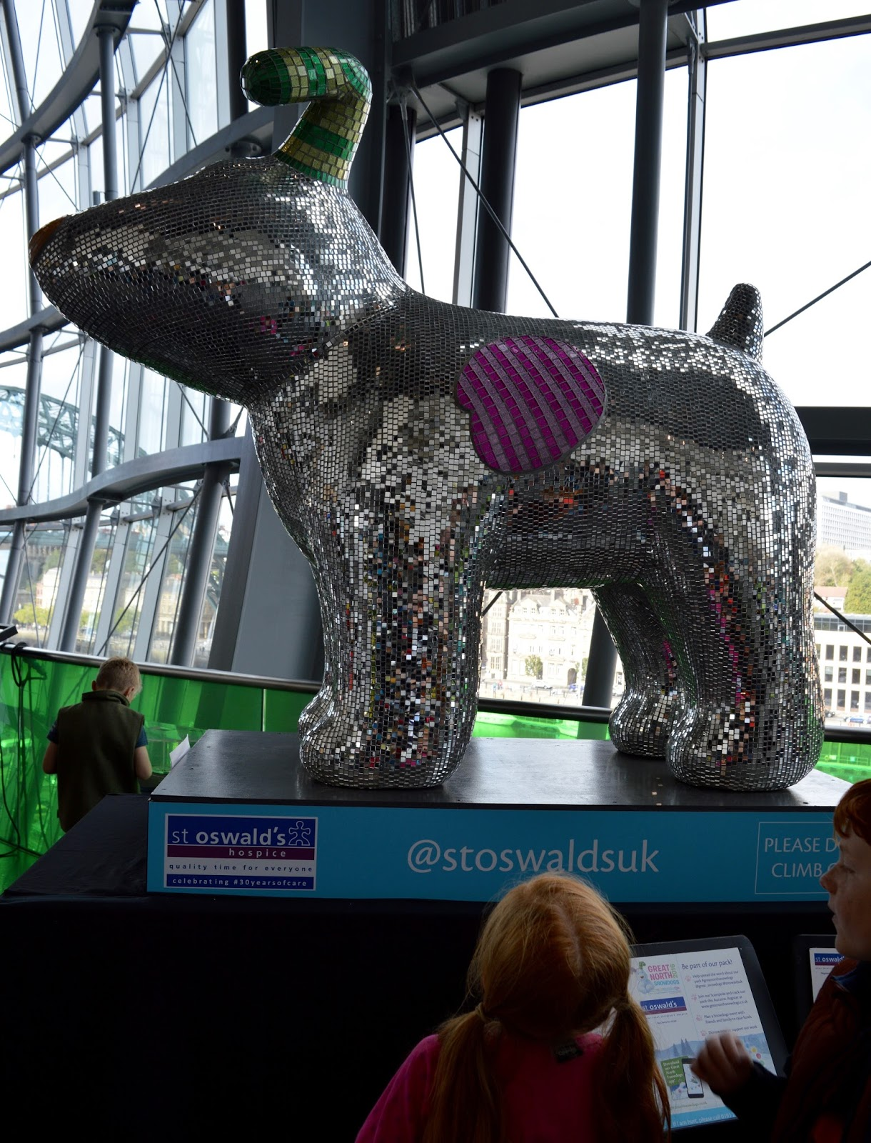 Explore the Great North Snowdogs with Tyne and Wear Metro - Disco Dog, Sage Gateshead (sponsored by Sage Gateshead)