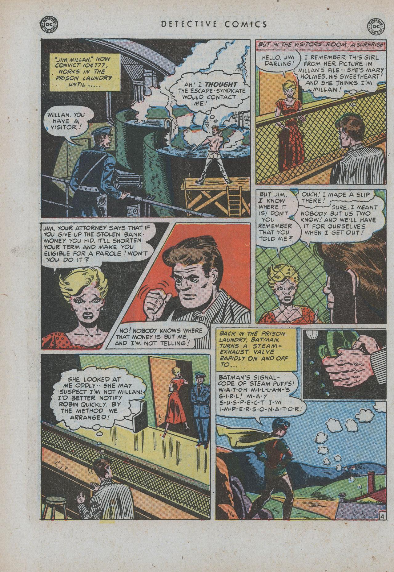 Read online Detective Comics (1937) comic -  Issue #154 - 6