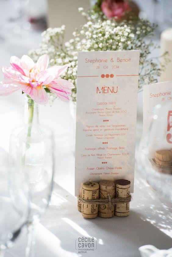 menus para bodas elegantes