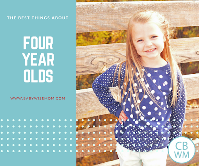 The Best Things About Four Year Olds